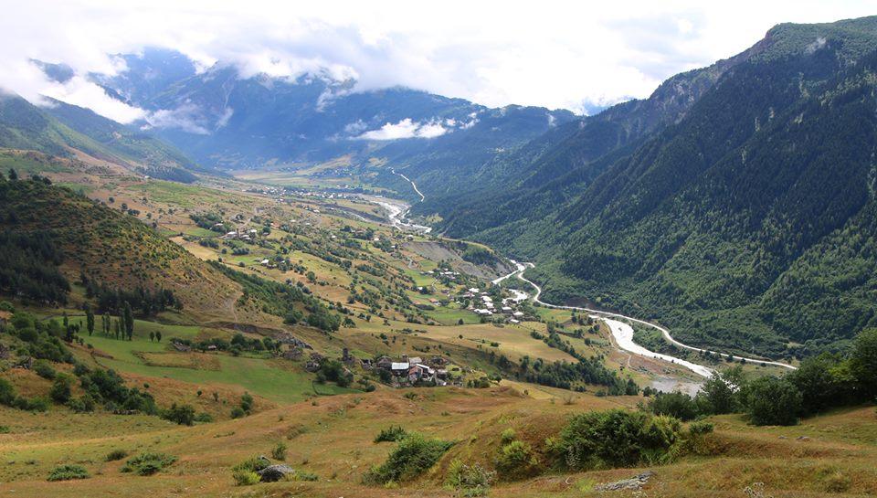 Hiking in Svaneti
