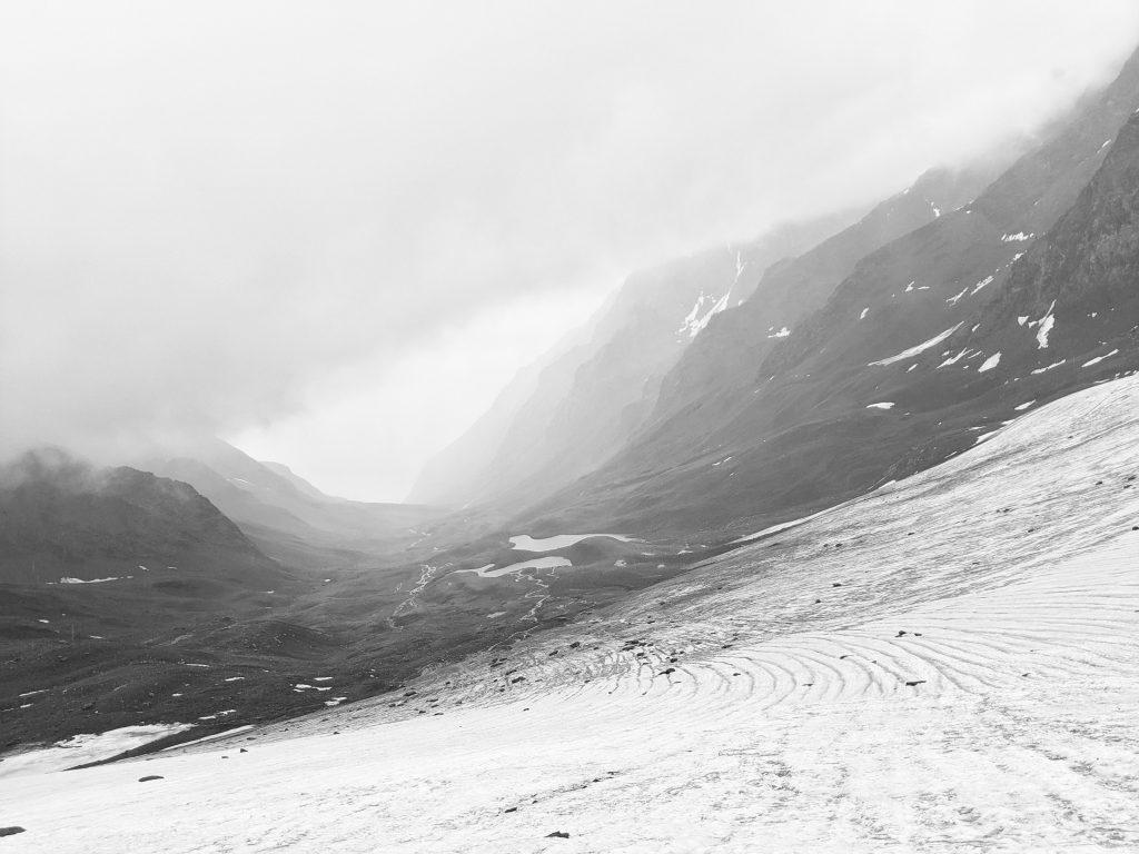 kvibishi glacier