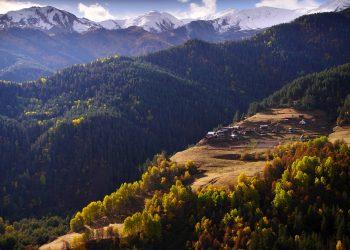 Trekking in Tusheti